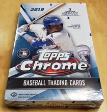 Picture of 2019  Topps Chrome Hobby Box